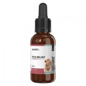 Anti-Démangeaison pour Chiens et Chats - Aide Naturelle contre les Allergies - Flacon de 50ml