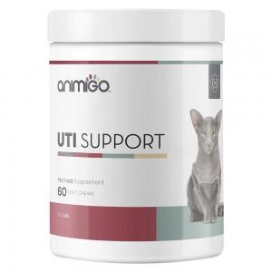 UTI Support pour Chats - Complément Naturel de Soin des Voies Urinaires - Animigo